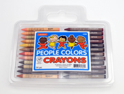 people color crayons
